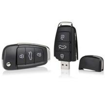 Audi Car Key Logo Pendrive 128GB USB Flash Drive 64GB 32GB 16GB 8GB Pen drive Personalizado Memoria USB Flash Disk Memory Stick