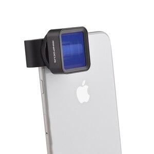 Image 2 - 1,33 X Anamorph Objektiv Verformung Fimmaking Handy Objektiv Widescreen Film Weitwinkel Kamera Objektiv für iPhone Samsung Handys