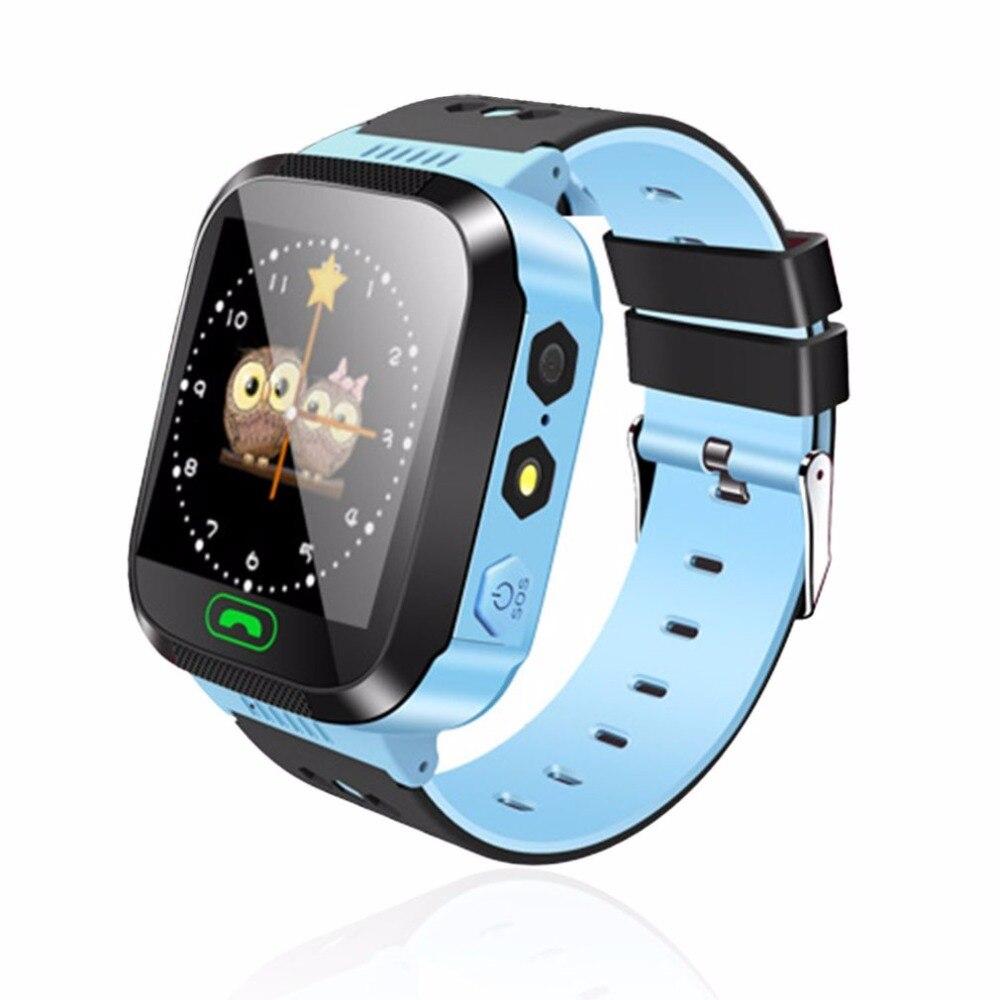 Смарт-часы детские наручные часы Сенсорный экран GPRS трекер анти-потерянный SmartWatch детские часы с дистанционным Камера SIM вызовов