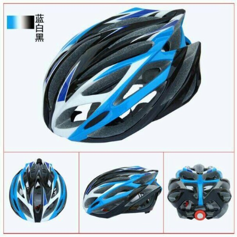 Q551 Free shipping Outdoor sports riding helmet mountain bike helmet color box mounted riding equipment integrated molded helmet