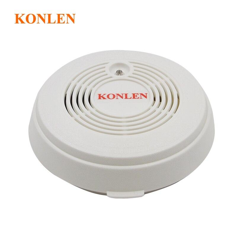 bilder für CO kohlenmonoxid-detektor und feuer rauchmelder kombination 2 in 1
