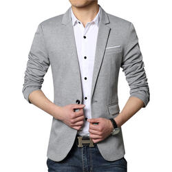 Новый Для мужчин блейзер Модные Роскошные шерстяное лоскутное тонкий костюм куртки Бизнес костюм мужской свадебное платье Для мужчин M-6XL