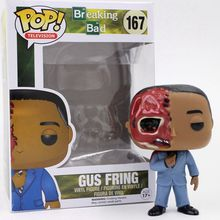 Funko pop Official Breaking Bad Figure Gus Fring Action Figure Collectible Vinyl Figure Model Toy with Original box