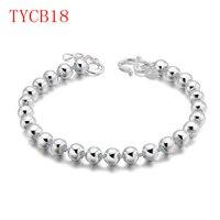 TYME New Arrive Fashion Sliver Gold Rose Color Bracelet Set For Couple Gift TYCB18