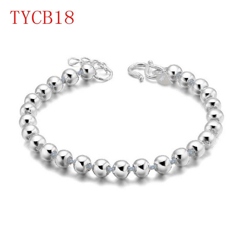 new arrive fashion sliver gold rose color bracelet set for couple gift TYCB18