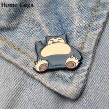 Homegaga Pocket monsters Zinc cartoon Funny Pins backpack clothes brooches for men women hat decoration badges medals D1599