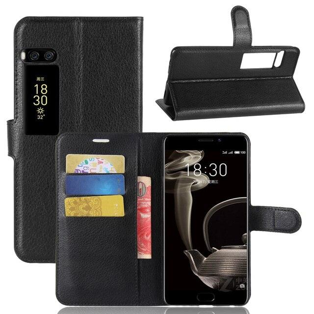 Meizu Pro 7 Plus чехол бумажник Стиль личи текстуры Флип кожаный чехол для Meizu Pro 7 Plus 5.7 дюймов С подставкой Функция