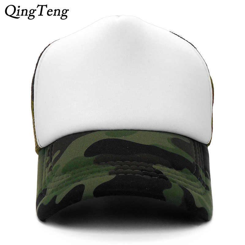 33725ef8fa7 Snapback Mesh Baseball Cap Summer Hats For Men Women Hip Hop Skateboard  Trucker Caps Boys Girls