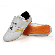 Hot Sell Zhubo Quality Taekwondo Shoes Tendon At The End Practicing Martial Arts TKD Training Wear Shoes