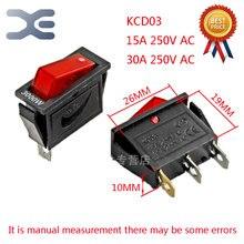 1 шт 3000 W KCD3 15A 30A 250 выключатель питания переменного тока многофункциональная рисоварка Запчасти 3Pin AC Мощность разъем