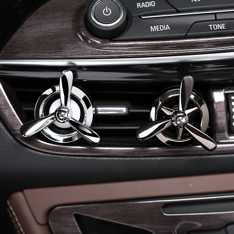Kust Car Air Freshener Car Air Outlet Vent Conditioner Clip Fan Perfume Fragrance Decor Auto Car Styling Deodorization Perfume