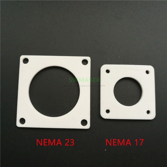 1pcs Nema 17/23 Stepper Motor Anti Vibration Ptfe Damper Vibration Damper Shock Absorber For Cnc Reprap 3d Printers Elegant And Sturdy Package