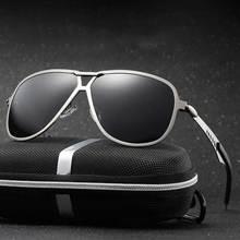 Fashion Men's UV400 HD Polarized Aviation Sunglasses Men Driving Shield Eyewear Sun Glasses Oculos De Sol Eyewear Accessories