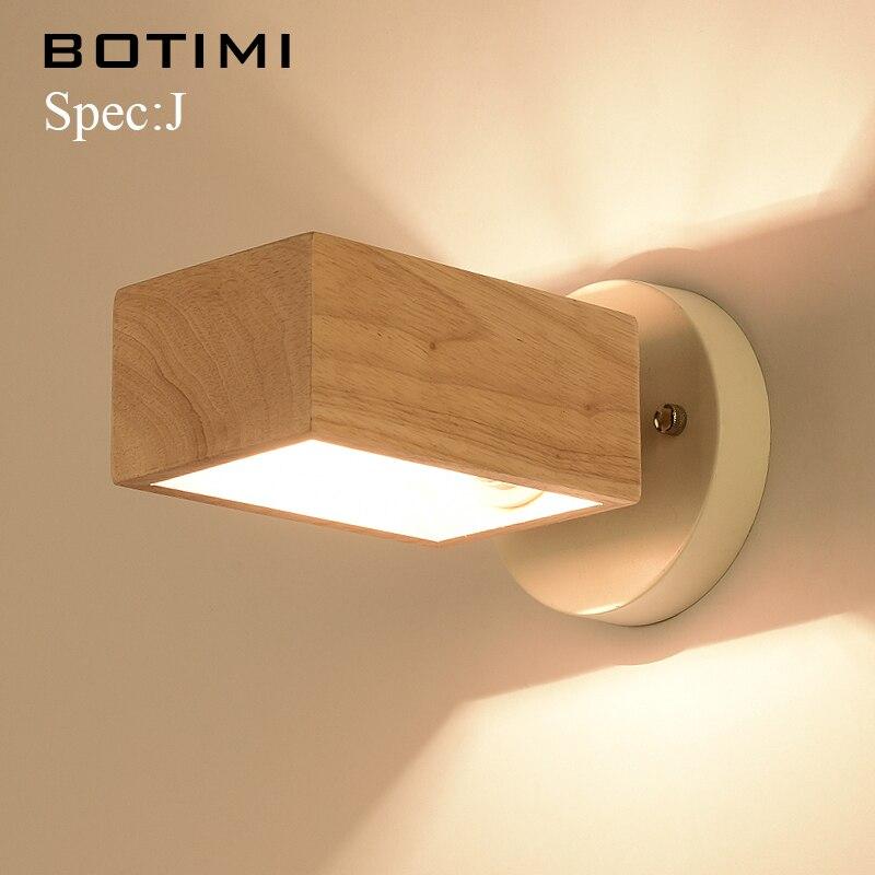 BOTIMI Nordique Mur Blanc Lampe Pour Salon E27 Chambre applique