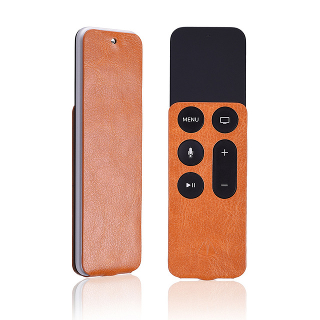 Remote Protective Case PU Leather For Apple TV4 Somatosensory Remote Control Dustproof Mouse Dust Cover FC134