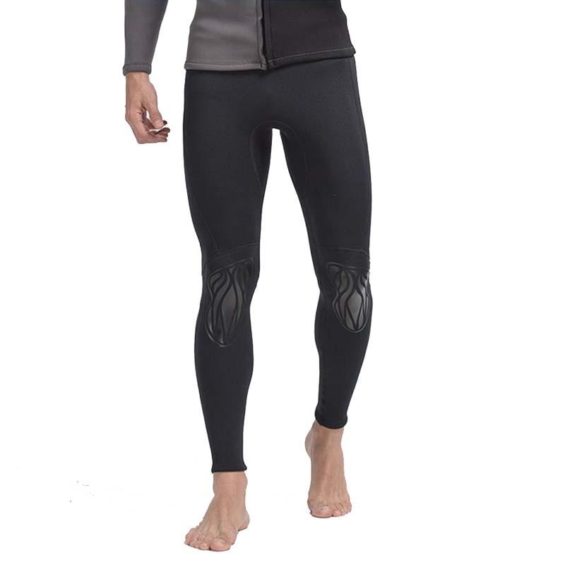 SBART 1PC 3MM néoprène maillots de bain pantalons combinaisons hommes combinaison de plongée voile surf pantalon plongée avec tuba natation vêtements 2018 DCO