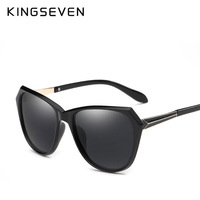 Fashion Women Cat Eye Sunglasses Classic Brand Designer Polarized Sun Glasses Women Coating Mirror Gafas De