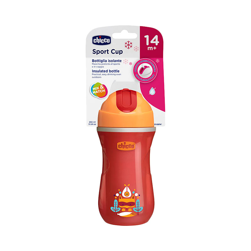 Cup Sport Cup tube, 14 months +, 266 ml feedkid