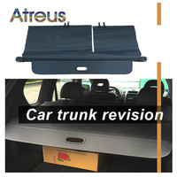 Atreus High Quality 1set Car Rear Trunk Security Shield Cargo Cover For Nissan Xtrail T31 T32 2008 2017 accessories