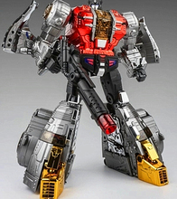 2019 NEW Transformers Gigapower GP HQ-02R Grassor Slag Chrome version