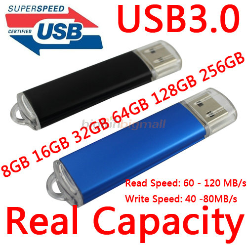 USB 3.0 Pendrive 64GB Usb Flash Drive 128GB 256GB Pen Drive 512GB Pendrive 1TB USB флэшкі Pen Drives Падарункі памяці