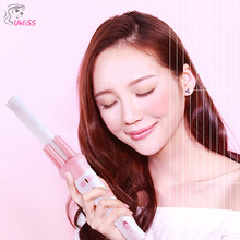 Ceramic Automatic Styling Tools professional Hair Curling Iron waver Pear Flower Cone Electric Curler Roller