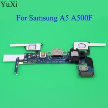 YuXi Sensor Headphone Jack Flex Cable USB Dock Connector Charging Port Flex Cable For Samsung Galaxy A5 A500F A5000