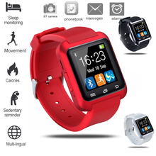 New men and women Bluetooth smart sports watch LED color screen touch connection mobile phone synchronization
