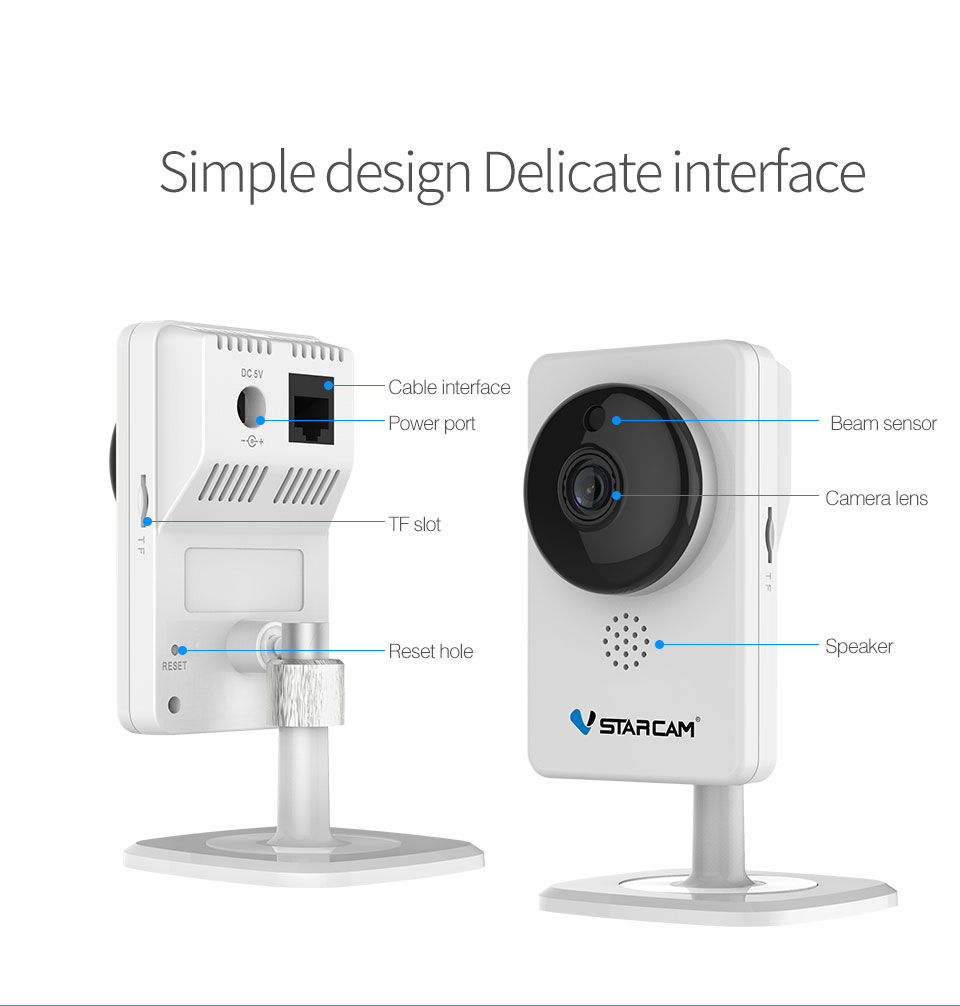 Image 5 - VStarcam IP Camera C92S 1080P Wi Fi Mini Camera Infrared Night Vision Motion Alarm Video Monitor-in Surveillance Cameras from Security & Protection