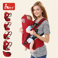 2019 Comfortable Infant Wrap Natural Cotton Hipseat Baby Sling Carrier Backpack Pouch for Newborn Kangaroo