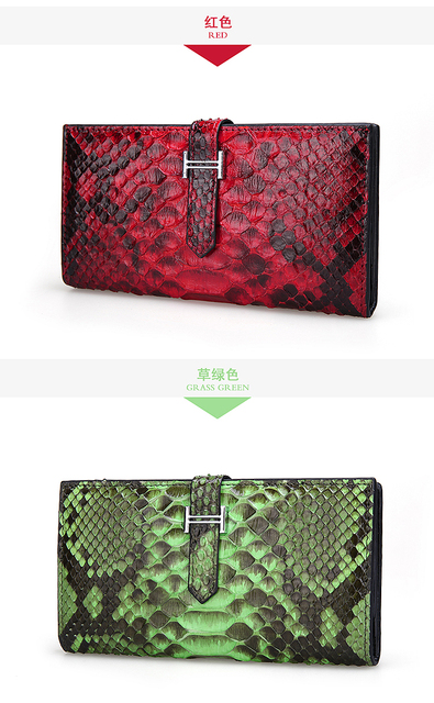 Python Patter Long Size Women Wallet