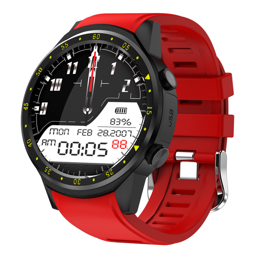 F1 Bluetooth GPS Smart Watch with Camera SIM Card Wristwatch Support Heart Rate Monitor Sport Smartwatch