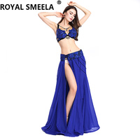 2019 Free Shipping New design Women's belly dancing clothes belly dance costume set sexy fashion bellydance Top&Skirts&Belt 8803