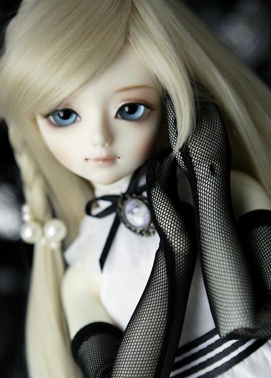 AQK(AQK)1/4 A quarter of children delftware DARAE BJD doll, lovely girl BJD doll (free send a pair of eyes) Free eyes