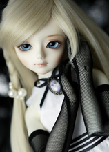 A quarter of children delftware DARAE BJD doll, lovely girl BJD doll (free send a pair of eyes)    NO makeup bjd1 4 doll darae
