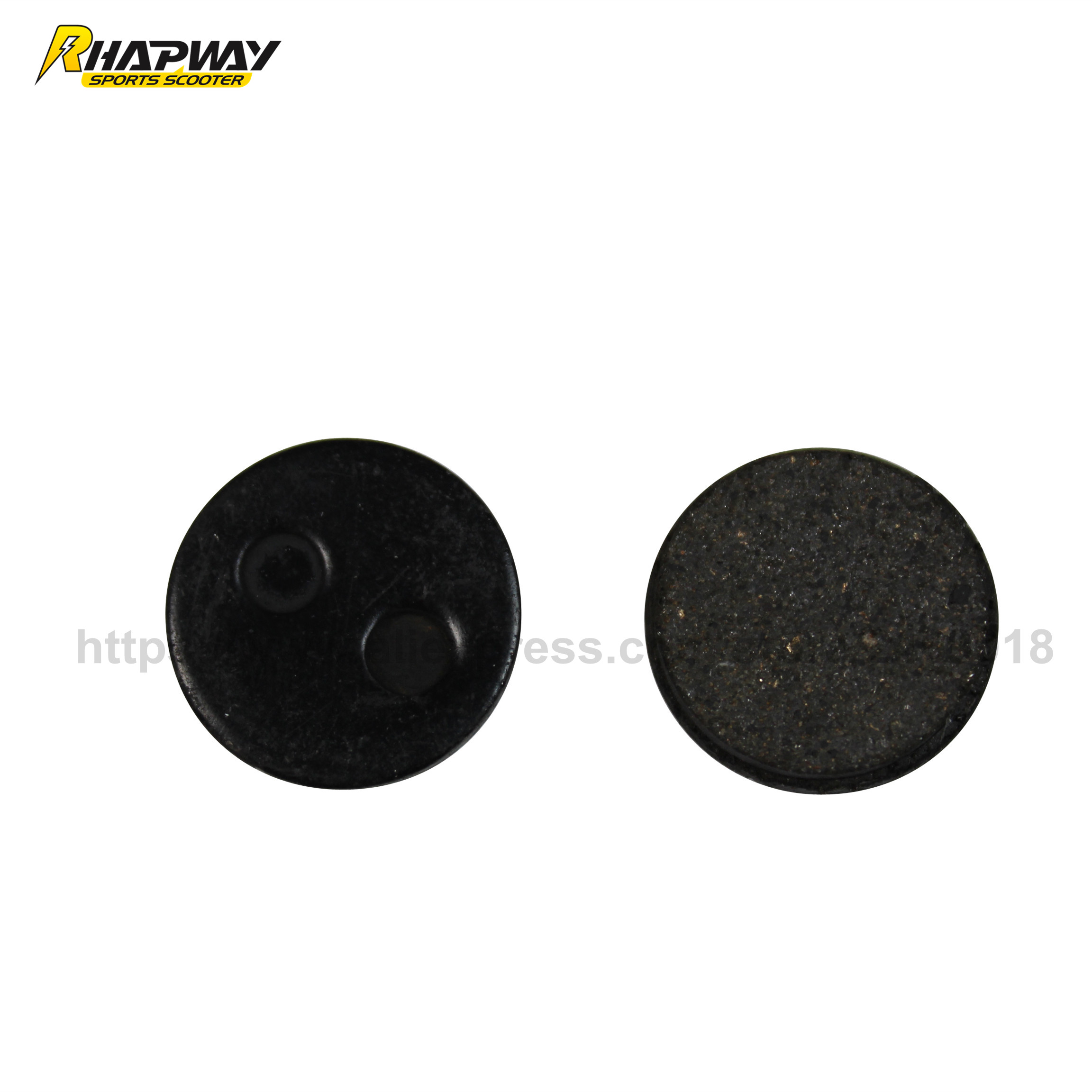 Round Friction Disc : Gas electric brake pads disc friction plate small
