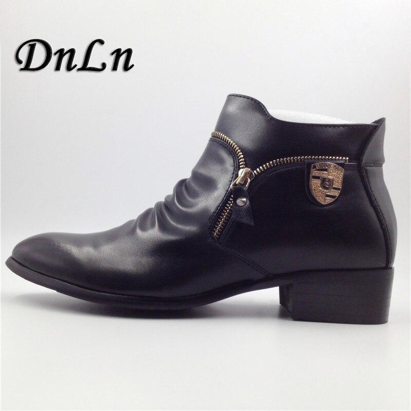 Leather Men Dress Shoes, Genuine Leather Boots For Men, Designer Luxury Men Casual Flats Shoes 25D50 amaginmni men genuine leather casual shoes leather brand men shoes work safety boots designer men flats men work