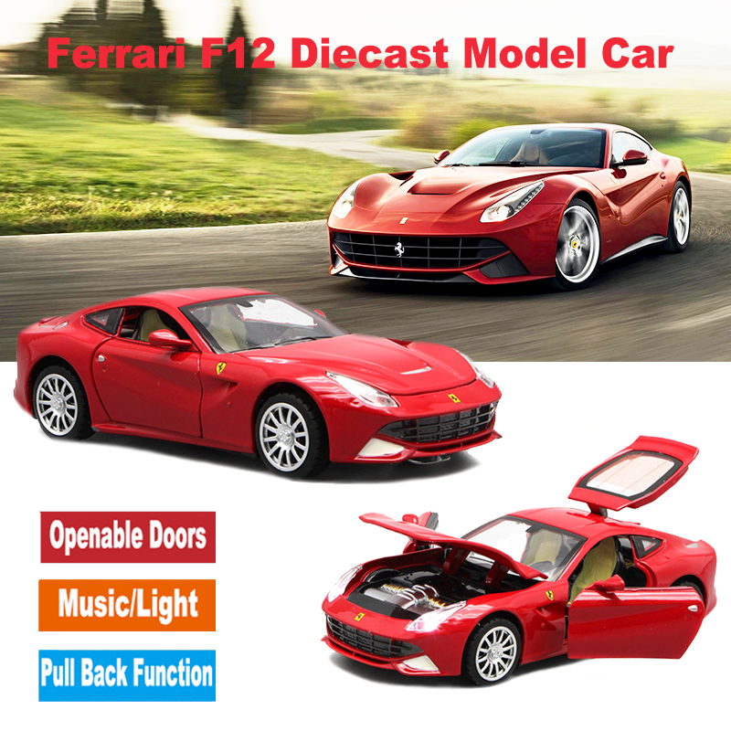Image 2 - Diecast Scale Models Toys Sport Cars, Collection Vehicle For Boys With Different Colors-in Diecasts & Toy Vehicles from Toys & Hobbies