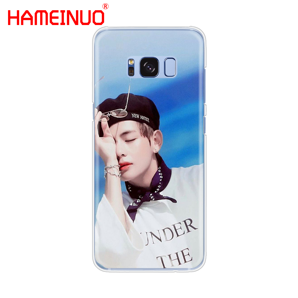 sports shoes 09a42 e6ed9 BTS Bangtan Boys V Cell Phone Case Cover For Samsung Galaxy S9 S7 Edge PLUS  S8 S6 S5 S4 S3 MINI