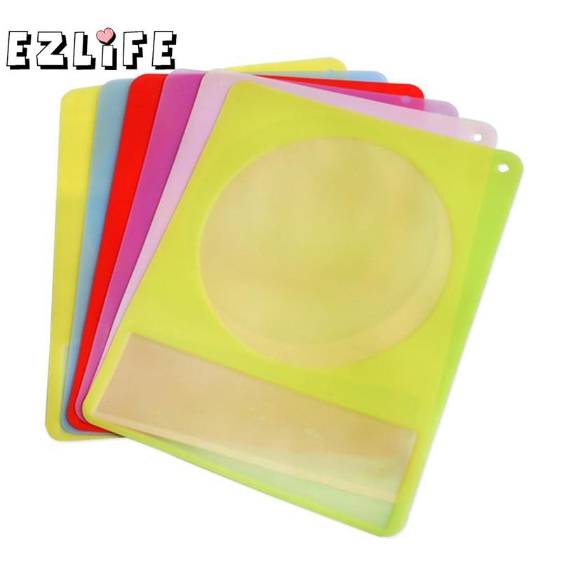 Colorful Translucent Food Silicone Mat Induction Cook Waterproof Protection Mat