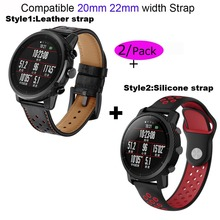 20mm Bracelet Band For Huami Amazfit Bip Pace Stratos 2 22mm Watch Strap For Samsung Gear S2 Classic S3 S4 Pulseira Correa 22mm genuine leather watch strap for samsung gear s3 classic frontier band for samsung r760 r770 huami amazfit pace stratos 2 1
