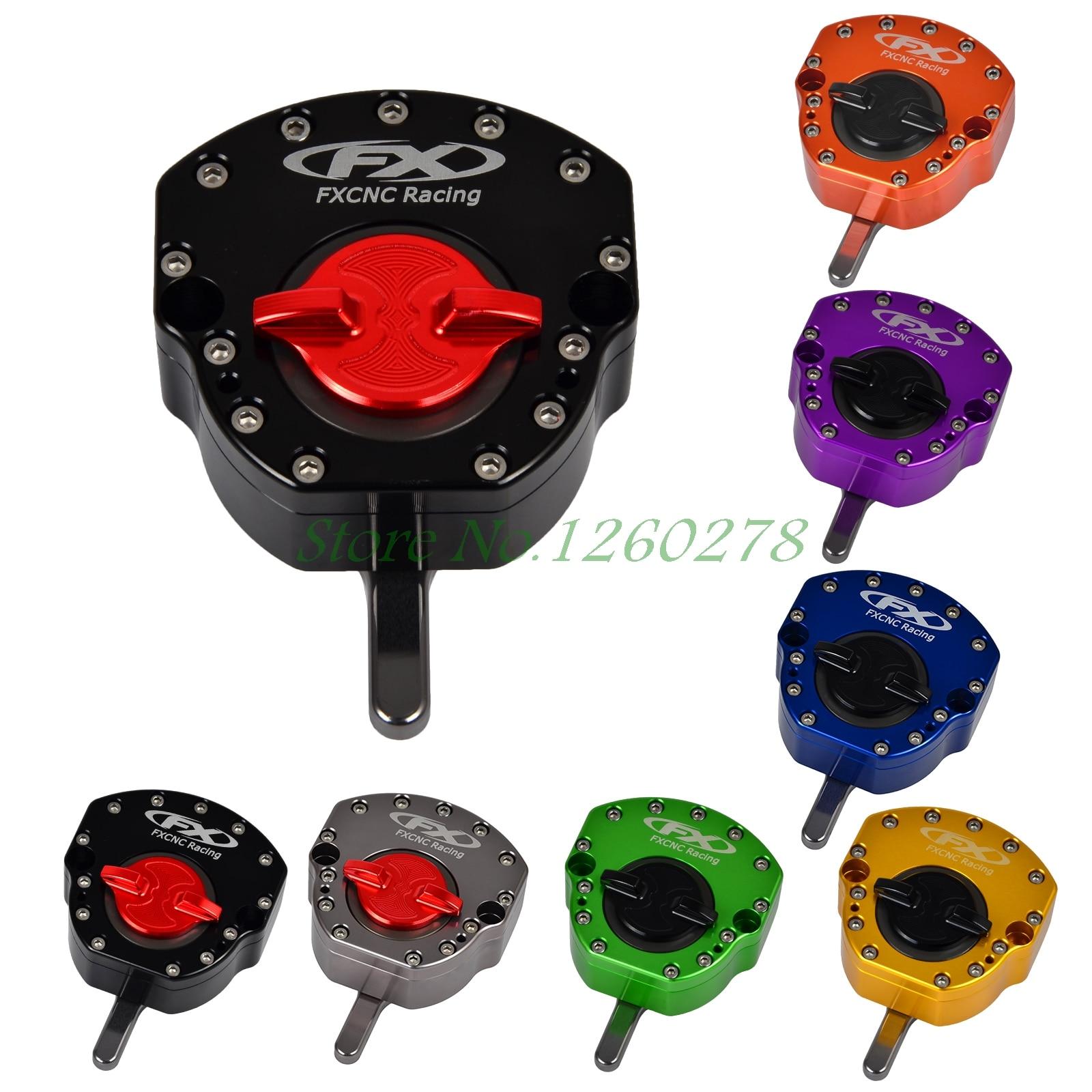 Motorcycle CNC Steering Stabilizer Damper For Honda GROM/MSX 125 CBR600RR F4 F4i CB1000 CBR900RR CBR929 954 CBR1000RR изменение honda cbr600 f5 f4 f4i cbr929 954rr cbr1000rr светодиодные очередь сигналы