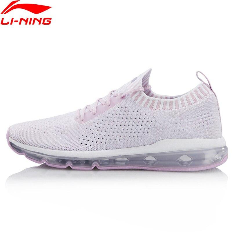 Li Ning Women BUBBLE MAX KNIT Stylish Lifestyle Shoes Cushion Sock Like LiNing Sport Shoes Breathable