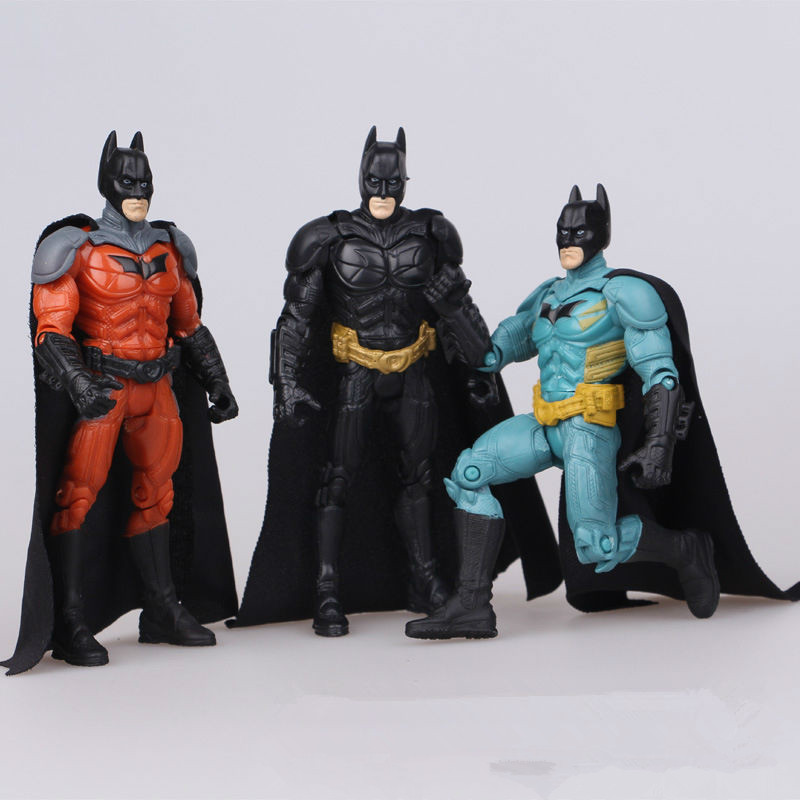 Batman Toys For Kids : Pcs lot batman action figures toys pvc model dolls for