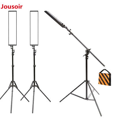 60cm LED Small Studio Dimmable Photo Fill Light Soft Light Box Shooting Simple Photography Props Color : Black+Silver