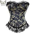 corset sexy lingerie chest  binder corsets and bustiers 6xl plus size corset Party steampunk gothic Corset Bustier women