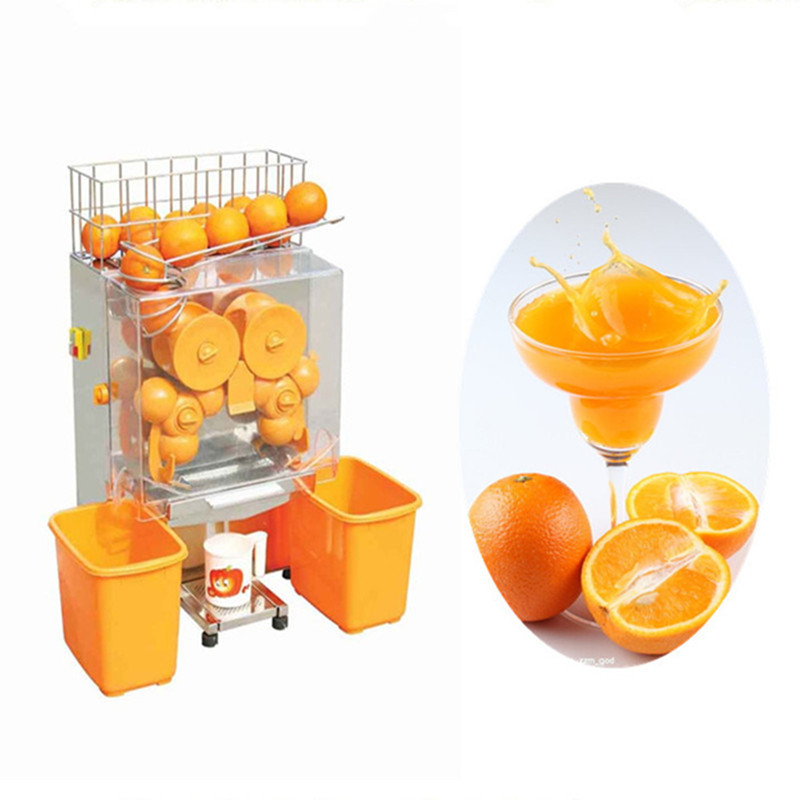 Pomegranate Juice Slow Juicer : High efficiency automatic orange juicer machine commercial orange lemon pomegranate juice ...