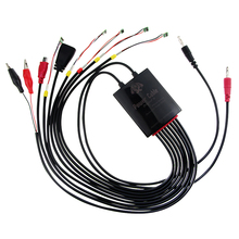 8 в 1 Черный Apple Батарея зарядки активации доска Питание телефон, ток Тесты кабель для iPhone 6splus 6 S 7 г 7 P Samsung