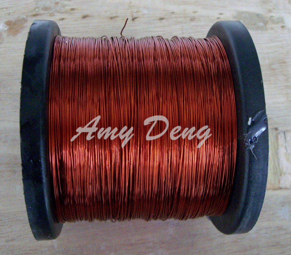 100 Meters/lot  0.55 Mm Polyester Qz-2-130 Painted Enamel Covered Copper Wire For Sale