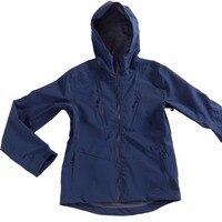Унисекс Водонепроницаемый куртка Для мужчин с капюшоном Softshell плащ открытый Пеший Туризм ветрозащитный Для женщин путешествия дождь куртк